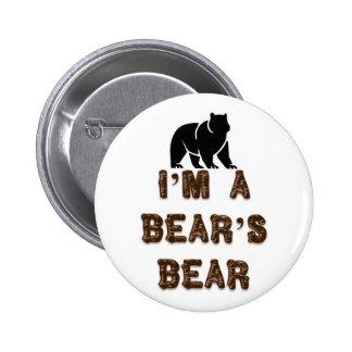 I'm A Bear's Bear 6 Cm Round Badge