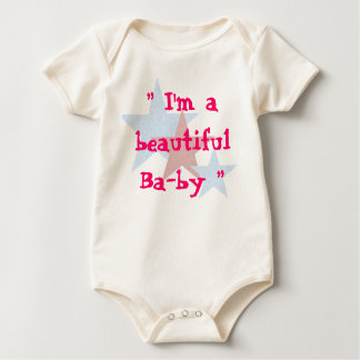 I'm a beautiful Baby Baby Bodysuit