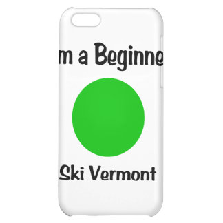 I'm a Beginner Ski Vermont Cover For iPhone 5C