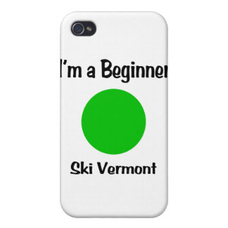 I'm a Beginner Ski Vermont iPhone 4 Case
