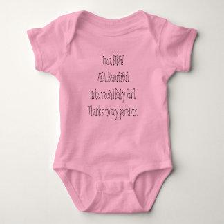 I'm a BIBG! AKA....Beautiful Interracial Baby G... Infant Creeper