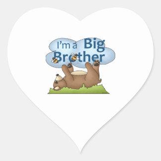 I'm a Big Brother bear Stickers
