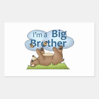 I'm a Big Brother bear Sticker