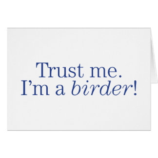 I'm a Birder Card