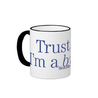 I'm a Birder Ringer Coffee Mug