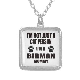 I'm a Birman Mommy Square Pendant Necklace