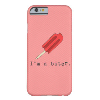 I'm A Biter Red Popsicle Iphone Case