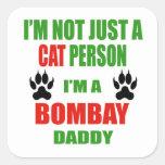 I'm a Bombay Daddy Square Sticker