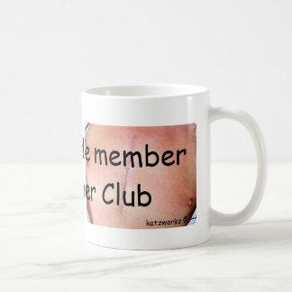 I'm a bona fide member of the Zipper Club Basic White Mug