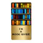 I'm A Book Giver Bookplate Sticker Labels