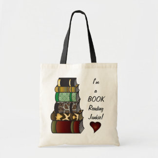 I'm a Book Reading Junkie Budget Tote Bag