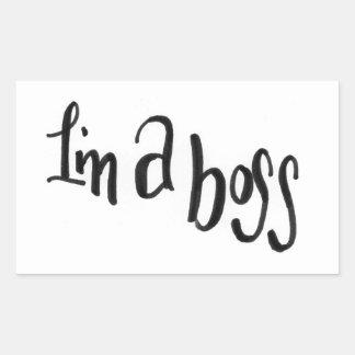 I'm a Boss Sticker