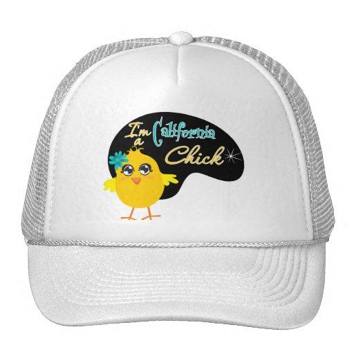 I'm a California Chick Trucker Hats