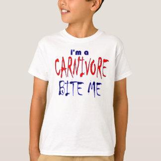 I'm a Carnivore Bite Me kids T-Shirt