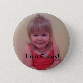 I'm a Cherry 6 Cm Round Badge