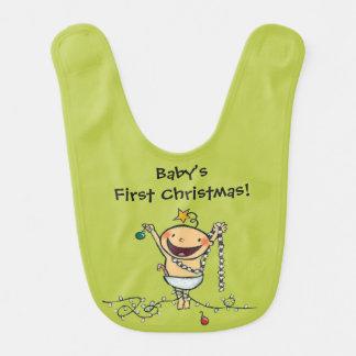 I'm a Christmas Tree! Baby Bib