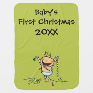 I'm a Christmas Tree! Baby Blankets