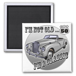 I'm A Classic 50th Birthday Gifts Magnet