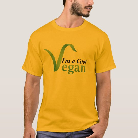 I'm a Cool Vegan Men T-shirt