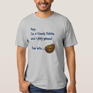 I'm a Couch Potato Ball Player Shirt