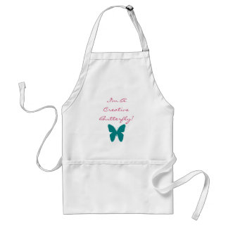 I'm A Creative Butterfly! Standard Apron