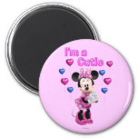 I'm a Cutie Minnie Mouse Refrigerator Magnets