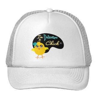 I'm a Delaware Chick Hats