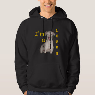I'm a dog LOVER Hooded Pullover