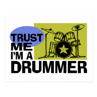 I'm A Drummer Card