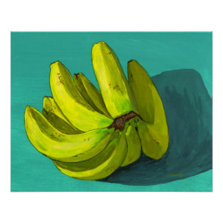 I'm A Fan 'O The Banana Poster