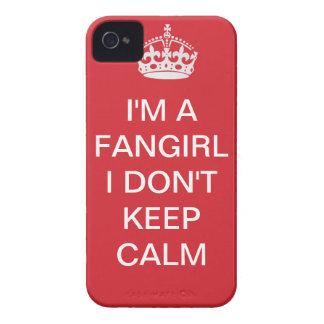 I'm a fangirl, I don't keep calm Case-Mate iPhone 4 Case