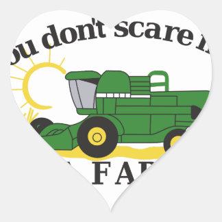 Im a Farmer Heart Sticker