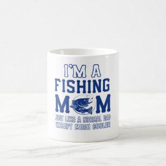 I'm a fishing mom coffee mug