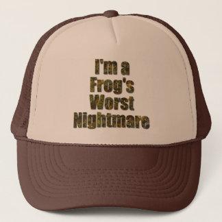 I'm a frog's worst nightmare trucker hat