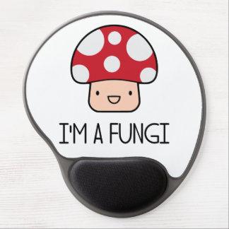 I'm a Fungi Fun Guy Mushroom Gel Mouse Mat
