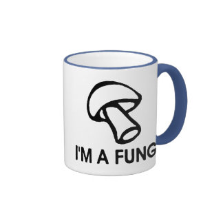I'm A Fungi Ringer Mug