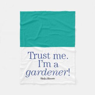 I'm a Gardener Fleece Blanket