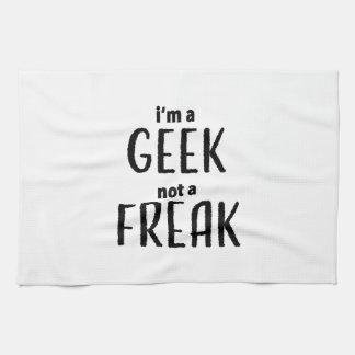 I'm a Geek Not a Freak Tea Towel