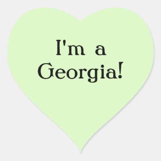 I'm a Georgia sticker