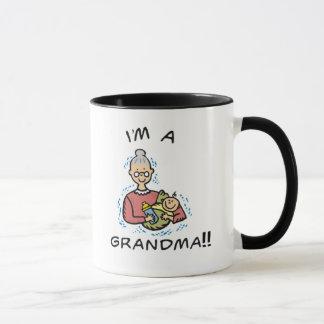 I'm a Grandma-Grandma and Baby Mug