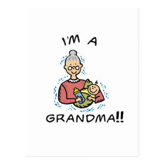 I'm a Grandma-Grandma and Baby Postcard