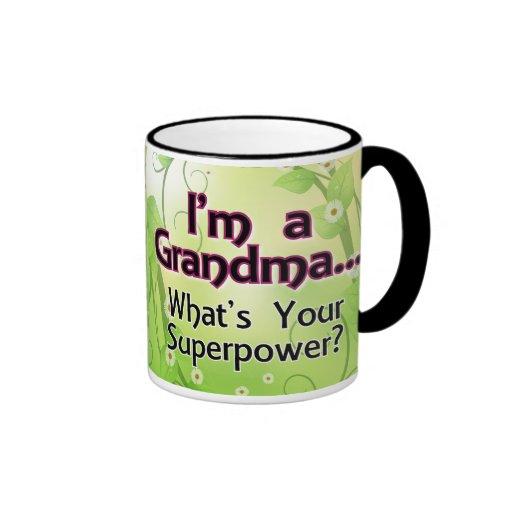 I'm a Grandma... What's Your Superpower Coffee Mug