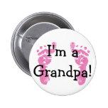 I'm a Grandpa! Pinback Buttons