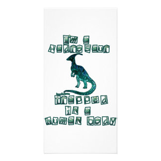 I'm a Hadrosaur Custom Photo Card