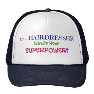 I'm a Hairdresser. What's Your Superpower? Cap