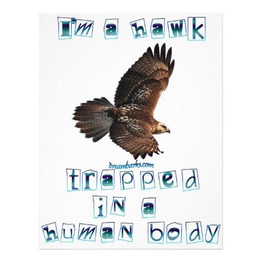I'm a Hawk 21.5 Cm X 28 Cm Flyer