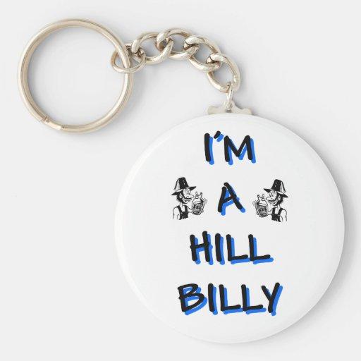 I'm a hillbilly key chains