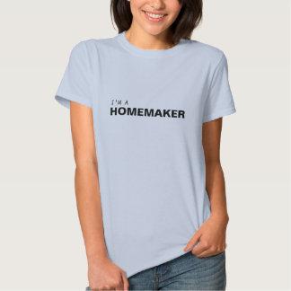 I'M A HOMEMAKER/BREAST CANCER SURVIVOR TSHIRTS