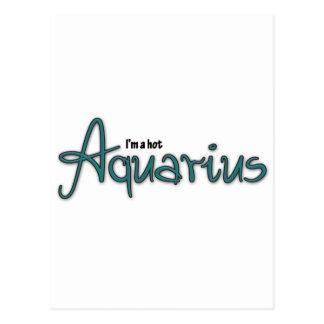 I'm A Hot Aquarius Postcard