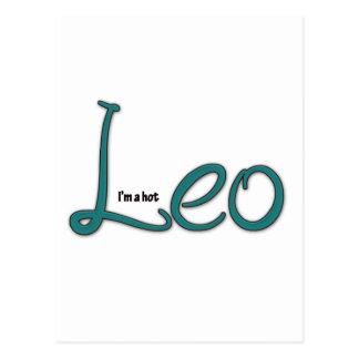 I'm A Hot Leo Postcard